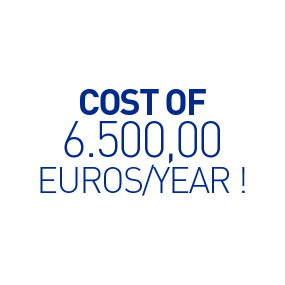 Salvalacqua _ Cost of 6500 euros/year